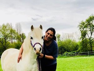 Equine Assisted Therapy . Me and Rooney
